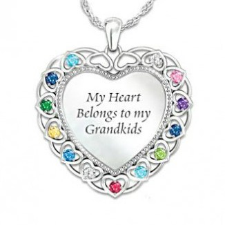 Mothers Day Necklace for Grandma