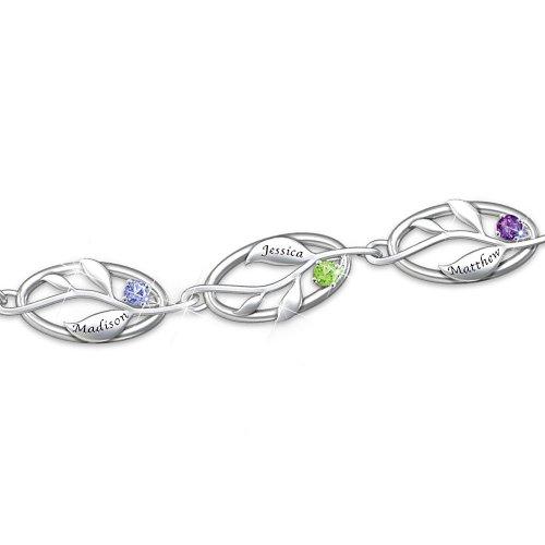 Family Tree Personalized Bracelet