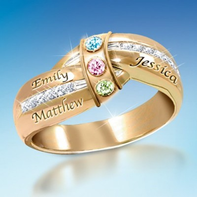 Looking for a gift that Mom or Grandma will always treasure?  Shop our collection of unique Mother's Day rings!