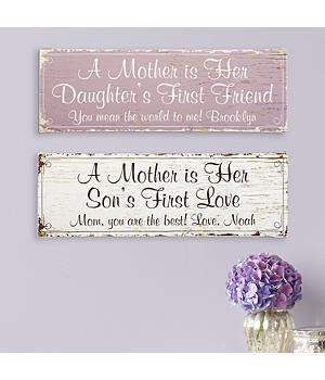 Personalized First Memories Canvas