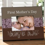 First Mothers Day Picture Frame Personalized