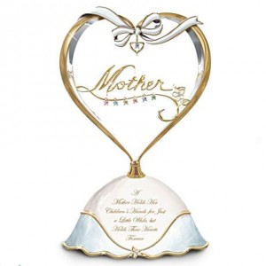 Personalized Heart Full of Love Music Box for Mother