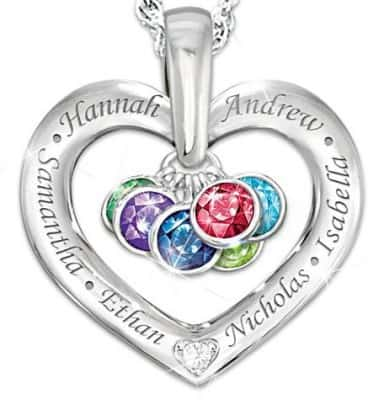 Our Family Is Held Together by Love Necklace