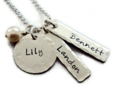 Mix and Match Name Charm Necklace