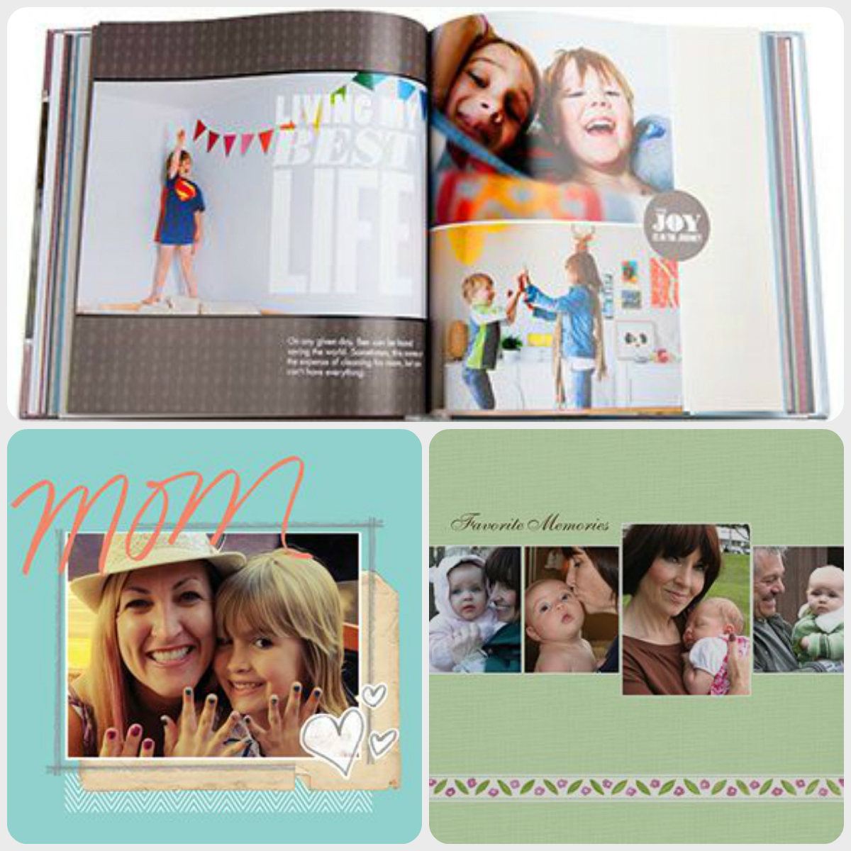 First Mother's Day Photo Book