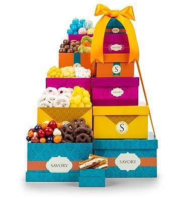Mother's Day Chocolate Gift Baskets - What a sweet gift for the Mom or Grandma with a sweet tooth!