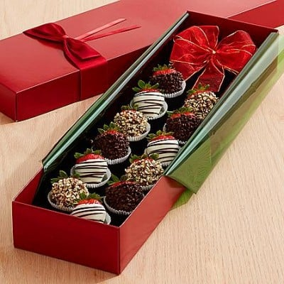 Don't these chocolate covered strawberry roses look scrumptious?