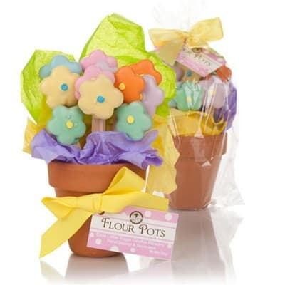 Adorable Mother's Day cookie gift basket is a fabulous gift for any lady with a sweet tooth!