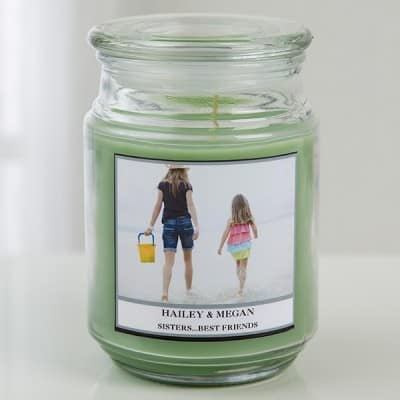 Photo Candle - Choice of Scents