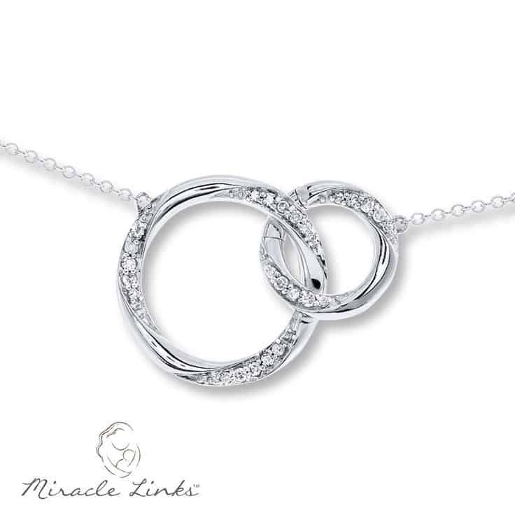 First Mother's Day Miracle Links Necklace