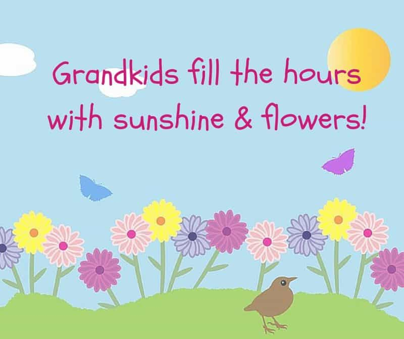 Grandkids fill the hours with sunshine
