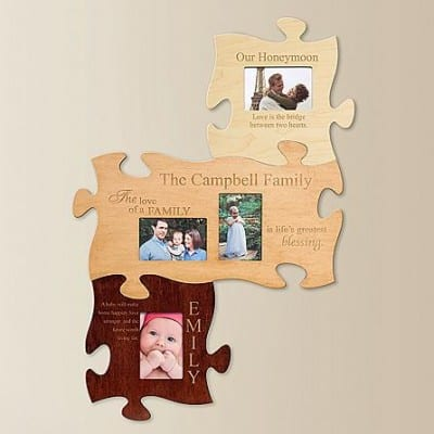 The Love of a Family Puzzle Frame