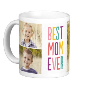 Best Mom Ever Photo Mug