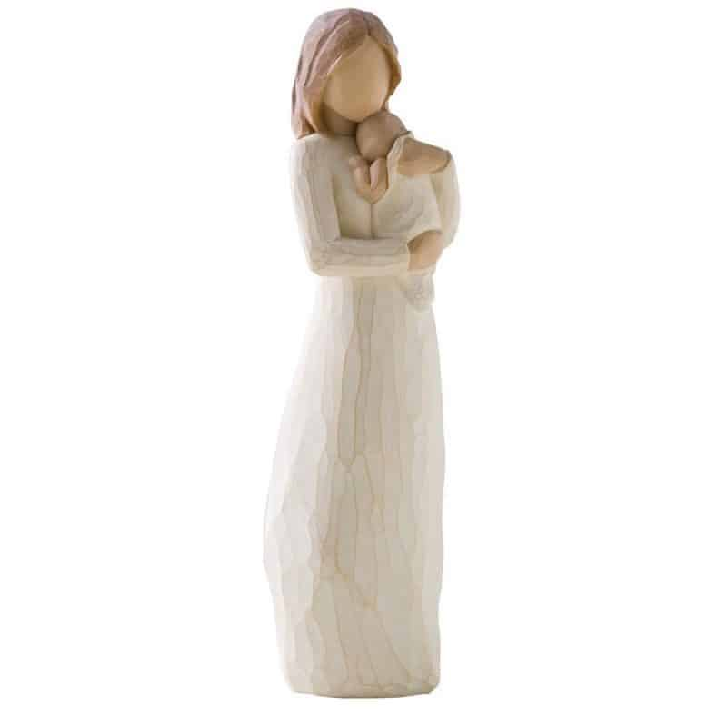 First Mother's Day Gift Ideas 2017 - Sweet mother and child figurine is a sentimental gift that the new mom will treasure forever!