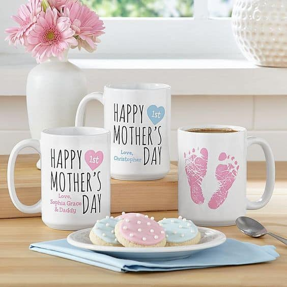 First Mother's Day Mugs