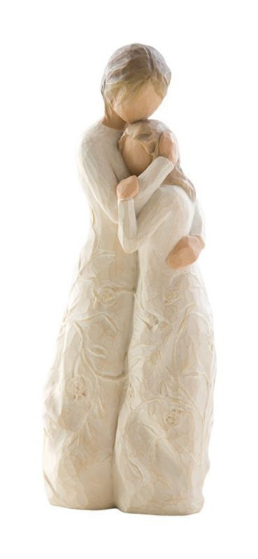 "Looking for a sentimental Mother's Day gift for your daughter?  Celebrate your unique bond with this sweet Willow Tree ""Close to Me"" figurine."