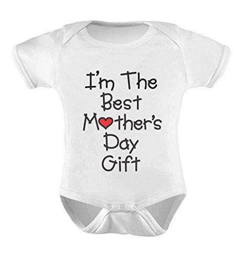 First Mother's Day Baby Onesie - Deck the little tyke out in style to celebrate the 1st Mother's Day!