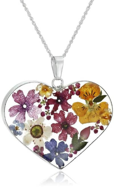 Pressed Flower Jewelry