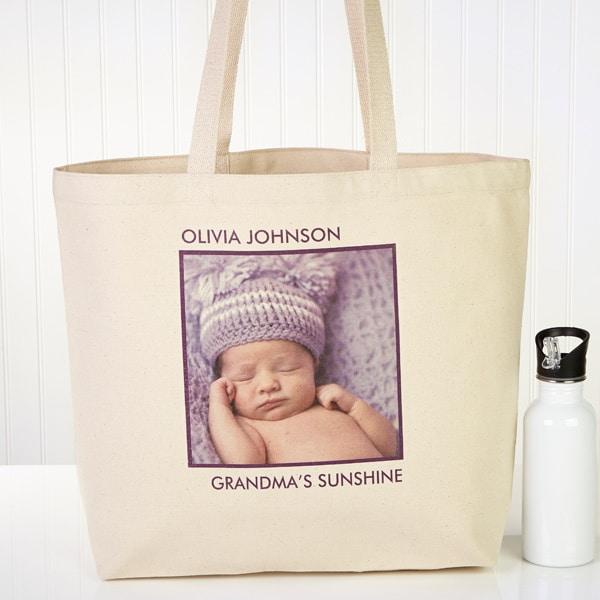 Photo Canvas Tote Bag