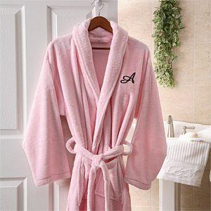 Monogrammed Robe for Women
