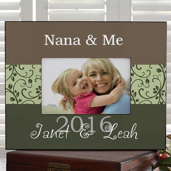 Personalized Grandma & Me Picture Frame