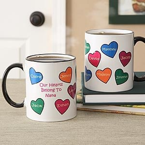 nalized Valentines Day Mug