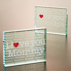 I/We Love You Personalized Keepsake