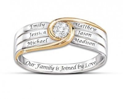 Mothers Day Rings - this elegant