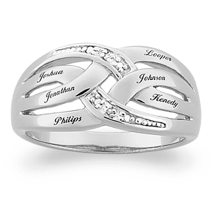 Diamond Eternity Mothers Ring