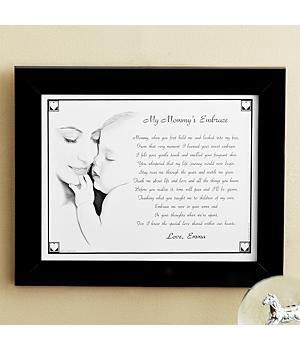 1st Mother's Day gift for daughter - Sweet personalized print is perfect for Mom to give her daughter for the first Mother's Day!
