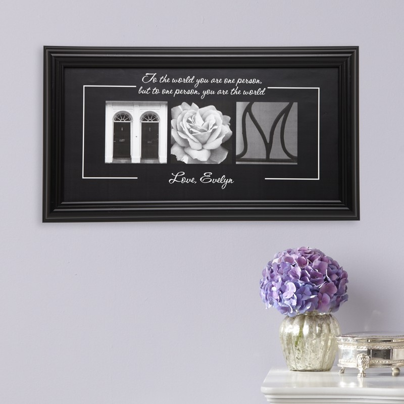 You Are The World Print for Mom or Grandma