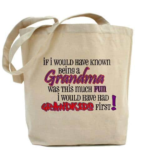Funny Tote Bag for Grandma