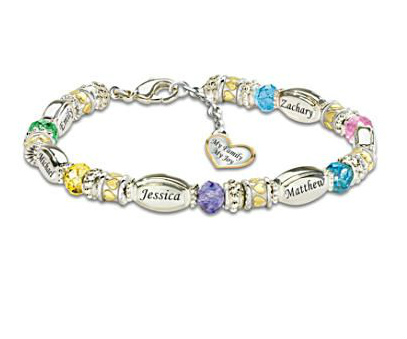 Personalized Family Bracelets