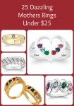 Affordable Mothers Ring: 25 Rings for Mom Under $50