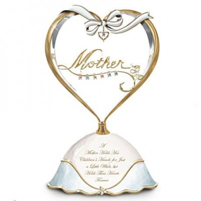 Mother's Day Music Box - Elegant music box is a lovely way for Mom to display her love for her children.