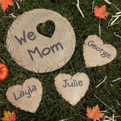 Personalized Heart Stepping Stones