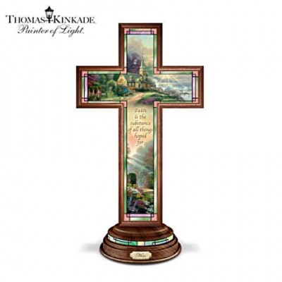 Inspire Grandma with this lovely Thomas Kinkade Illuminated cross.  Inscription reads,