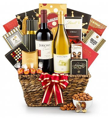 Mother's Day Delight Wine Gift Basket