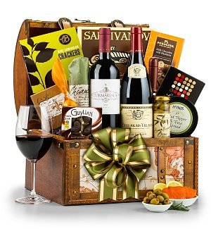 Around the World Wine Gift Basket