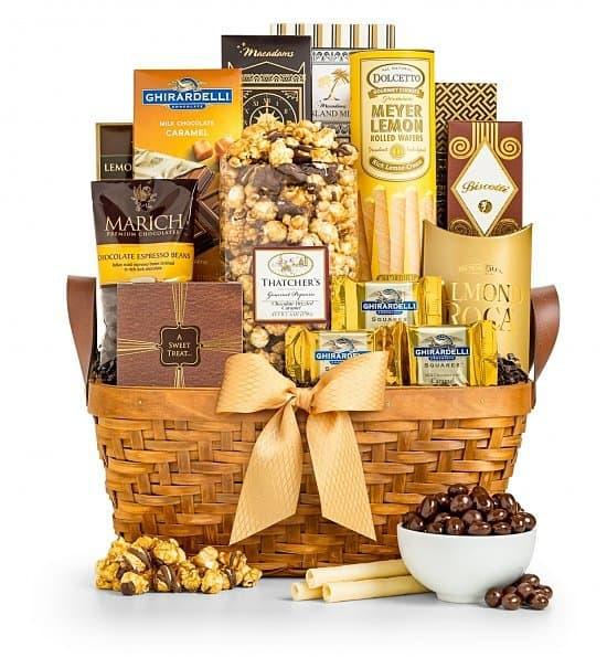 As Good As Gold Gift Basket