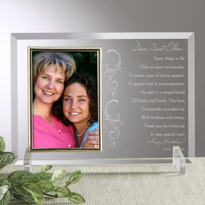 Aunt Picture Frame - 11 Photo Frames Your Aunt Will Love