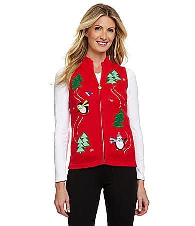 Nouveaux Penguin Christmas Sweater Vest