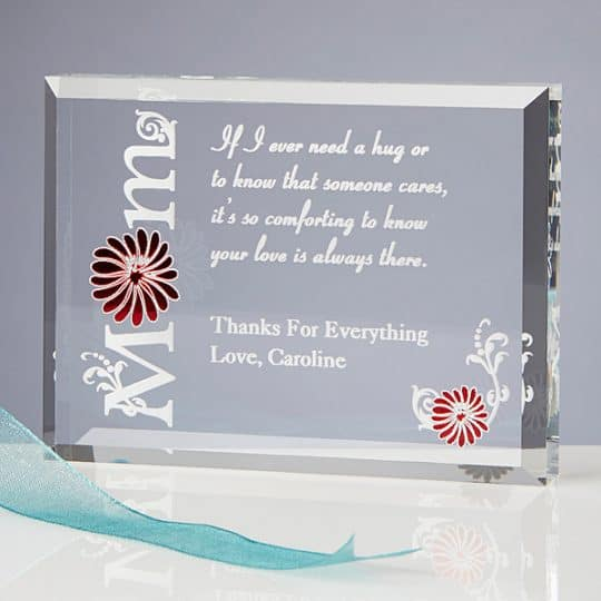 Personalized Keepsake for Mom