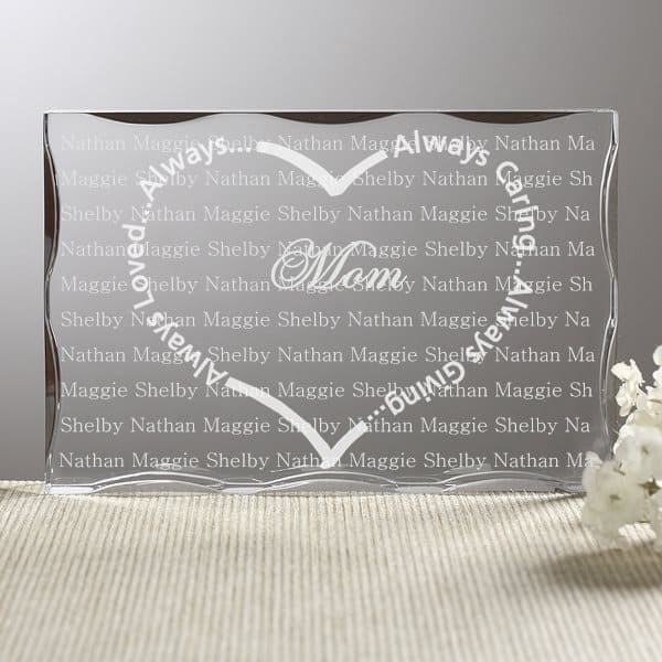 Always Loved Personalized Keepsake