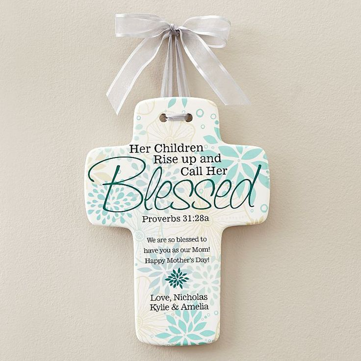 Call Her Blessed Personalized Cross