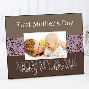 First Mother's Day Gifts 2018 - Preserve a favorite memory in a beautiful First Mother's Day picture frame!