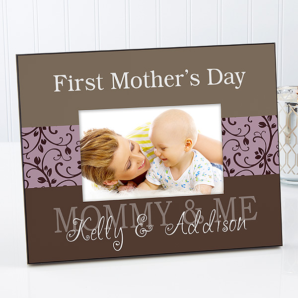 first mothers day frame lovely personalized frame is a sweet 1st mothers day gift - Mothers Day Picture Frame
