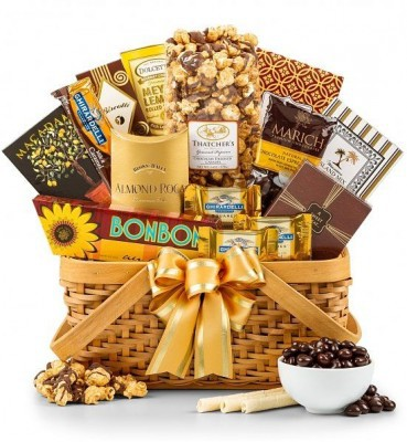 Good as Gold Mothers Day Gift Basket