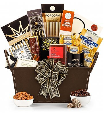 Mother's Day Gift Basket - Pamper Mom this year with a scrumptious gift basket.