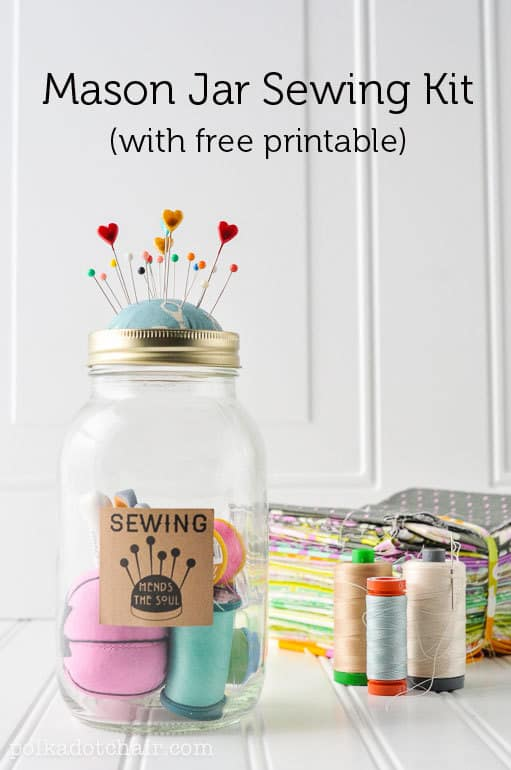 A sweet Mother's Day gift for the mother or grandmother who loves to sew!